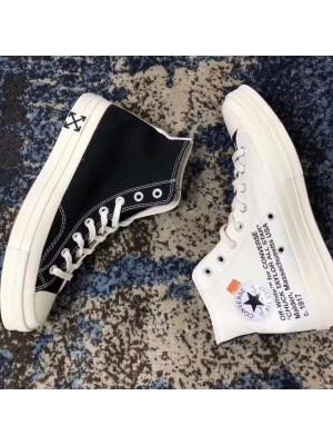 OFF-WHITE x Converse
