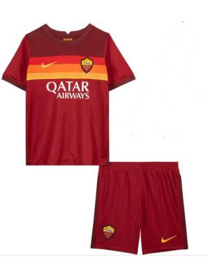 Camiseta De AS Roma 1a Equipacion 2020/2021 Niños