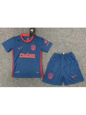 Camiseta Del Atlético de Madrid 2a Eq 2020/2021 Niños