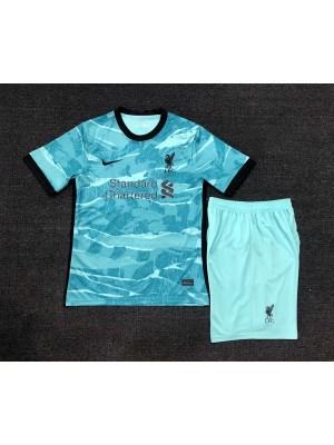 Camiseta Liverpool 2a Equipacion 2020-2021 Niños