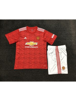 Camiseta De Manchester United 1a Eq 2020/2021 Niños