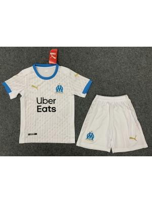 Camiseta Olympique de Marseille 1a Eq 2020-2021 Niño