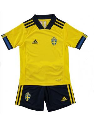 Camiseta De Suecia 2020 Niños