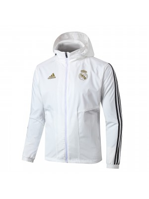 Cortavientos Real Madrid 2019-2020 Blanco
