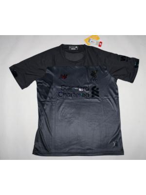 Liverpool camiseta negra 2019/2020