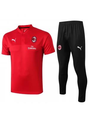 Polo + Pantaloni AC Milan 2019-2020
