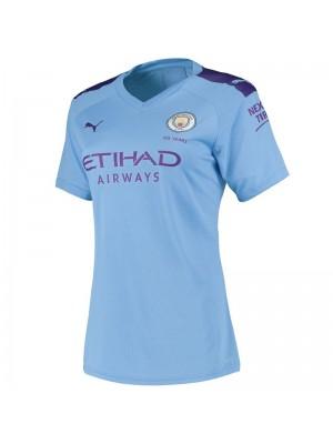 Camiseta Manchester City Primera Equipacion 2019/2020 Mujer