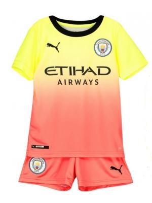 Camiseta Manchester City 3a Equipacion 2019-2020 Niños