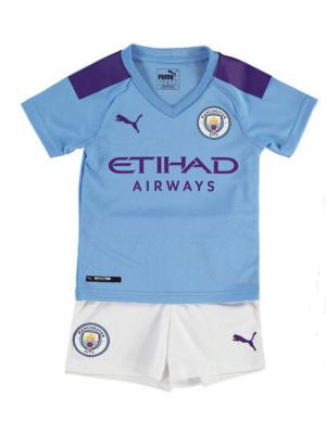 Camiseta Manchester City 1a Equipacion19/20 Niños