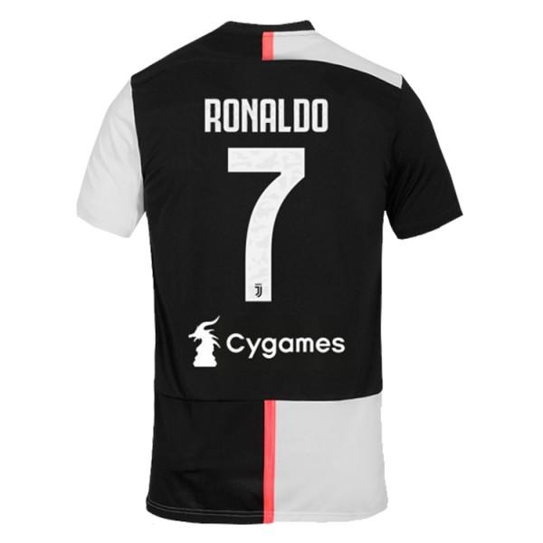 Camiseta Juventus 1a Equipacion 2019/2020 Ronaldo 7 Cygames