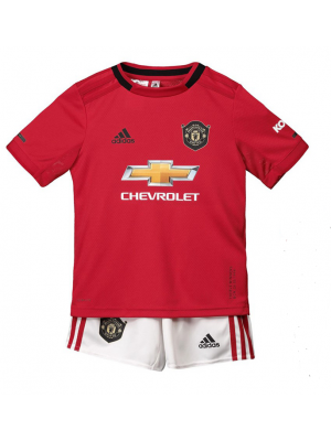 Camiseta De Manchester United 1a Eq 2019/2020 Niños