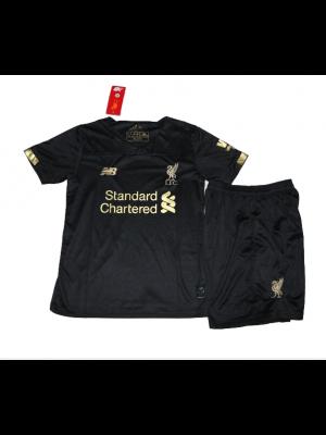 Camiseta Liverpool Nero 2019-2020 Niños