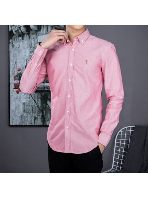 Ralph Lauren Oxford Textile Shirts  - 005