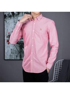 Ralph Lauren Oxford Textile Shirts  - 005