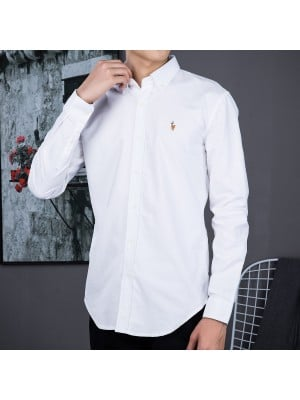 Ralph Lauren Oxford Textile Shirts  - 001
