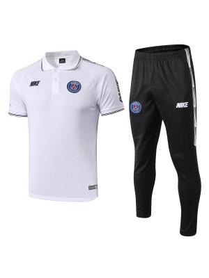 Polo+Pantalones PSG 2019/2020 Blanco