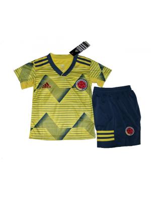 Camisas de Columbia 1a equipación 2019 Niños