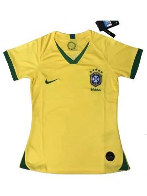 Camisas de Brasil 1a equipación 2019 Mujer