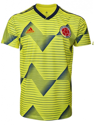 Camiseta del Colombia 1a Eq 2019