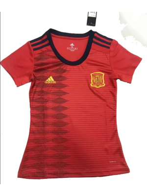 Camiseta De España 1a Eq 2019 Mujer