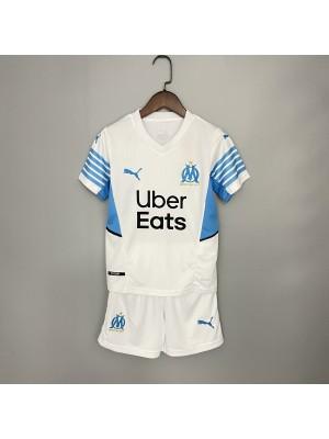 Camiseta Olympique de Marseille 1a Eq 2021/22 Niño