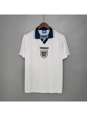 Inglaterra primera equipaciones Retro 1996