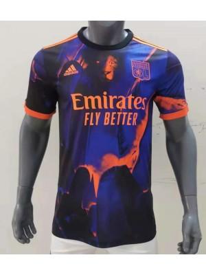 Camiseta Olympique Lyon 3a Equipacion 2021/2022