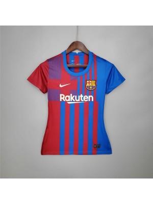 Camiseta Barcelona 1a Equipacion 2021/2022 Mujer