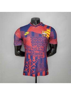 Camiseta Barcelona 2021/2022--Versión del jugador