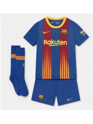 Camiseta De Barcelona 2020-2021 Niños