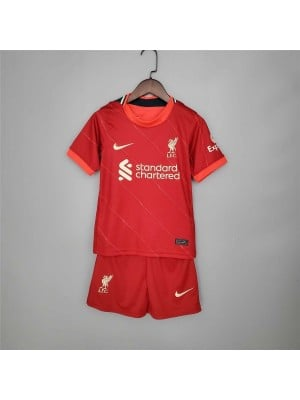 Camiseta Liverpool 1a Equipacion 2021-2022 Niños