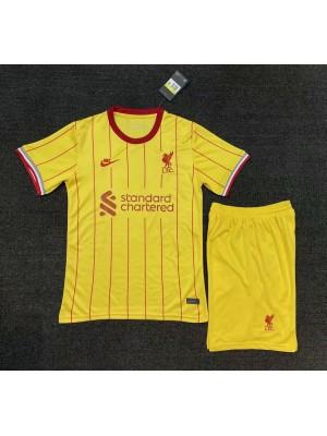 Camiseta Liverpool 3a Equipacion 2021-2022 Niños