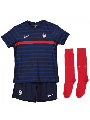 Camiseta De Francia Azul 2021 Niños