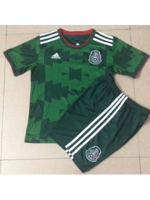 Camisas del México 2a Eq 2021 niños