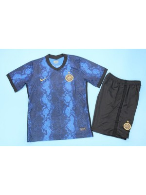 Camiseta Inter Milan 1a Equipacion 2021/2022 Niños