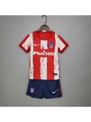 Camiseta Del Atlético de Madrid 2021/2022 Niños