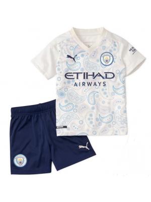 Camiseta Manchester City 2a Equipacion 2020-2021 Niños