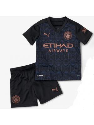 Camiseta Manchester City 3a Equipacion 2020-2021 Niños