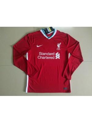 Camiseta De Liverpool 1a Equipacion 2020-2021 ML
