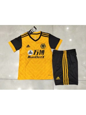 Camiseta De Wolves 1a Eq 2020/2021 Niños