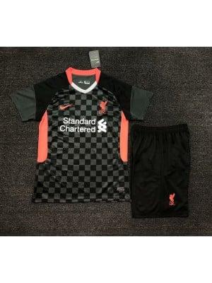 Camiseta Liverpool 3a Equipacion 2020-2021 Niños