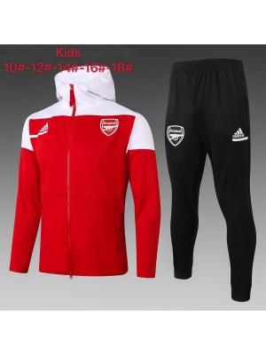 Chaqueta con capucha + Pantalones Arsenal 2020/2021 Niños