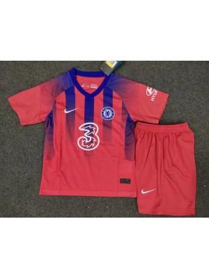 Camiseta De Chelsea 3a Equipacion 2020-2021 Niños