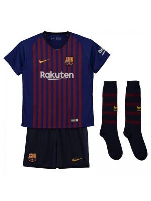 Camiseta De Barcelona 1a Eq 2018/2019 Niños