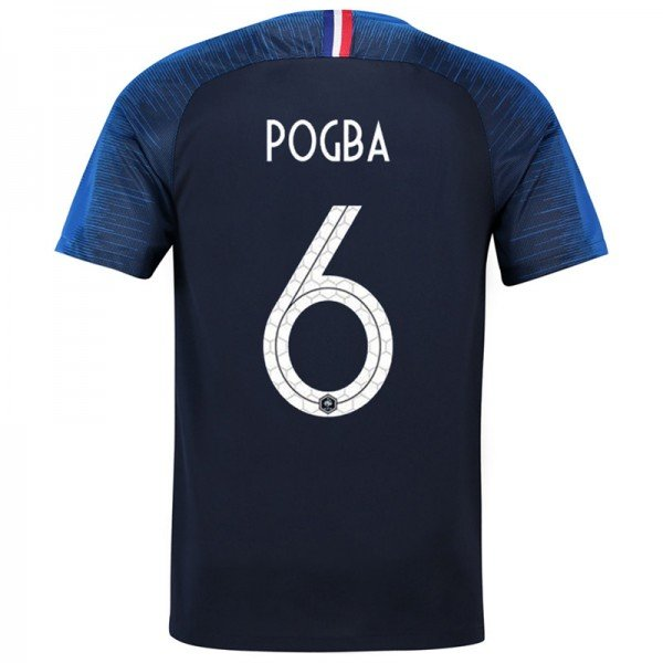Camiseta Del Francia 1a Eq 2018 Nuevo
