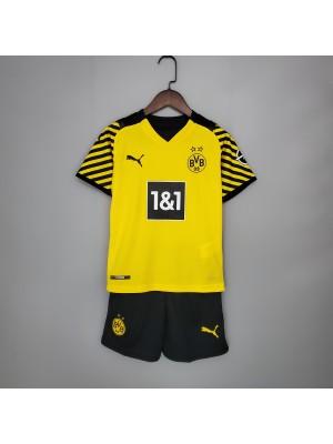 Camiseta De Borussia Dortmund 1a Eq 21/22 Niños