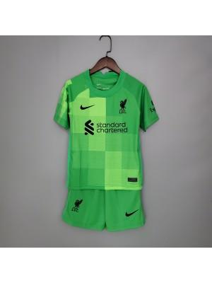 Camiseta Liverpool 2021-2022 Niños
