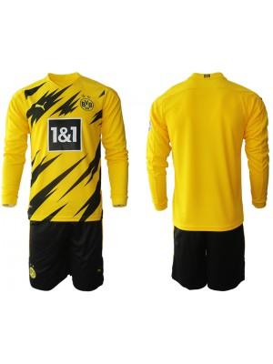 Camiseta Borussia Dortmund 2020/2021 Manga larga