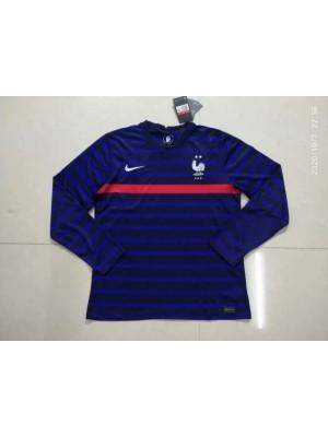 Camiseta Del Francia Primera Equipacion 2021 Manga larga