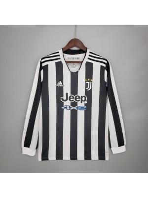 Camiseta Juventus Primera Equipacion 2021/2022 Manga larga